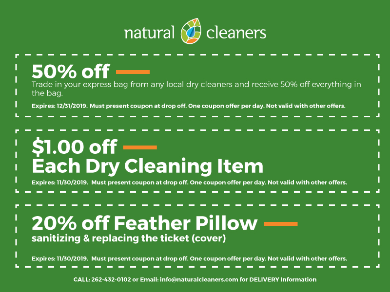 October 2019 Natural Cleaners Coupons