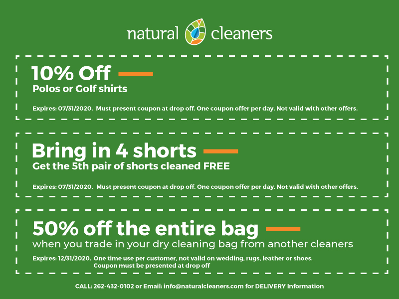April 2020 Natural Cleaners Coupons