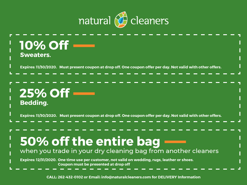 September 2020 Natural Cleaners Coupons